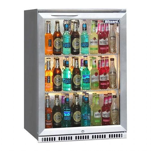 Bar 1 SS  Single Door Bottle Fridge